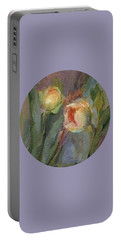 Evening Bloom Portable Battery Charger