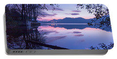 Evening By The Lake Portable Battery Charger