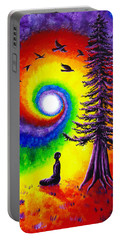 Evening Chakra Meditation Portable Battery Charger