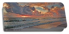 Portable Battery Charger featuring the photograph Evening Clouds by HH Photography of Florida