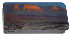 Evening Comes To Marble Canyon Portable Battery Charger