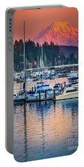 Evening In Gig Harbor Portable Battery Charger