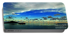 Evening In Paradise Panoramic Portable Battery Charger
