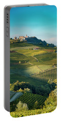 Portable Battery Charger featuring the photograph Evening In Piemonte by Brian Jannsen