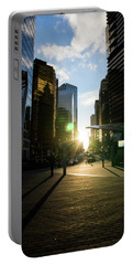 Evening In The City Portable Battery Charger