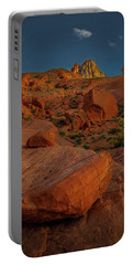 Evening In The Valley Of Fire Portable Battery Charger