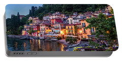 Evening In Varenna Portable Battery Charger