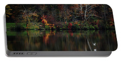 Evening On The Lake Portable Battery Charger by Rowana Ray