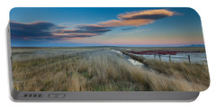 Portable Battery Charger featuring the photograph Evening On The Plains by Fran Riley