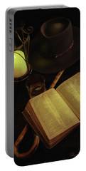 Evening Reading Portable Battery Charger