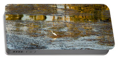 Evening Reflections In Carmel Portable Battery Charger by Venetia Featherstone-Witty