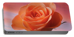 Evening Rose Portable Battery Charger by Terence Davis