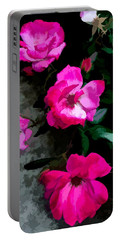 Evening Roses Portable Battery Charger