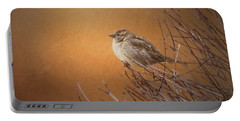 Evening Sparrow Song Portable Battery Charger