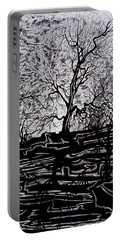 Evening Sun Of Waterton Portable Battery Charger by Anna  Duyunova