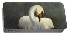 Evening Swan Portable Battery Charger