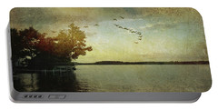 Evening, The Lake Portable Battery Charger