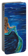 Evening Tide Mermaid Portable Battery Charger
