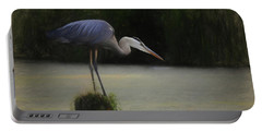 Ever Vigilant - The Great Blue Heron Portable Battery Charger