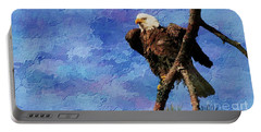 Portable Battery Charger featuring the photograph Ever Watchful by Geraldine DeBoer