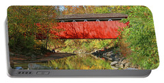 Everett Road Covered Bridge  5860 Portable Battery Charger