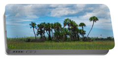Everglades Landscape Portable Battery Charger by Christopher L Thomley