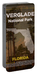 Everglades National Park In Florida Travel Poster Series Of National Parks Number 15 Portable Battery Charger