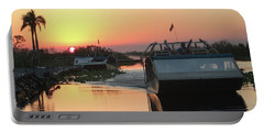 Everglades Sunset Portable Battery Charger