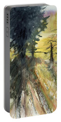 Evergreen Portable Battery Charger by Judith Levins