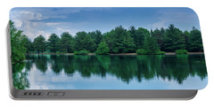 Evergreen Lake Reflections Portable Battery Charger