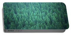 Evergreen Portable Battery Charger by Laurie Stewart