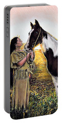 Everlasting Love A Maiden And Spot Portable Battery Charger