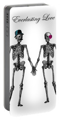 Everlasting Love Couple Skeleton Couple Portable Battery Charger