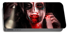 Evil Dead Dentist Performing Oral Examination Portable Battery Charger