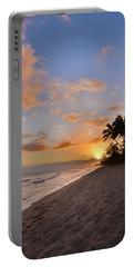 Ewa Beach Sunset 2 - Oahu Hawaii Portable Battery Charger