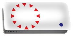 Portable Battery Charger featuring the digital art Excluded by Greg Collins