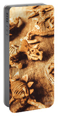 Exhibition In Prehistoric Art Portable Battery Charger