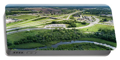 Portable Battery Charger featuring the photograph Exit 43 by Randy Scherkenbach