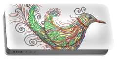 Exotic Bird I Portable Battery Charger