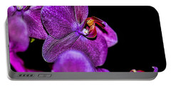 Portable Battery Charger featuring the photograph Exotic by Diana Mary Sharpton