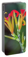 Exotic Flowers Portable Battery Charger
