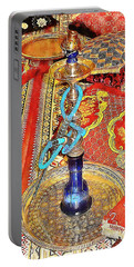 Exotic Oriental Hookah Pipe 4 Portable Battery Charger