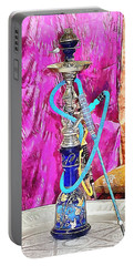 Exotic Oriental Hookah Pipe Portable Battery Charger