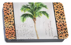 Exotic Palms 1 Portable Battery Charger by Debbie DeWitt