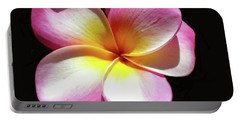 Exotic Plumeria Portable Battery Charger