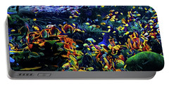 Exotic Tropical Marine Fish Portable Battery Charger