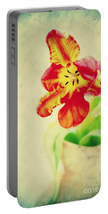 Exotic Tulip Portable Battery Charger