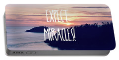 Expect Miracles Portable Battery Charger