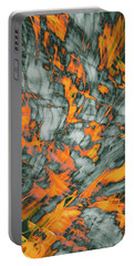 Exploded Fall Leaf Abstract Portable Battery Charger