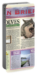 Explore Magazine - Wolves Article Portable Battery Charger